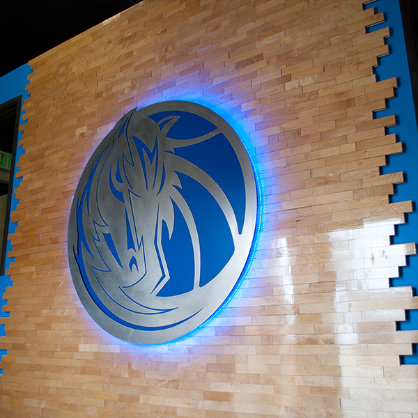 Dallas Mavericks Metal Sign | Davis Metal Stamping, Inc.